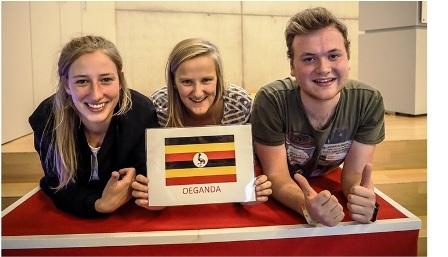 Volunteers in Uganda
